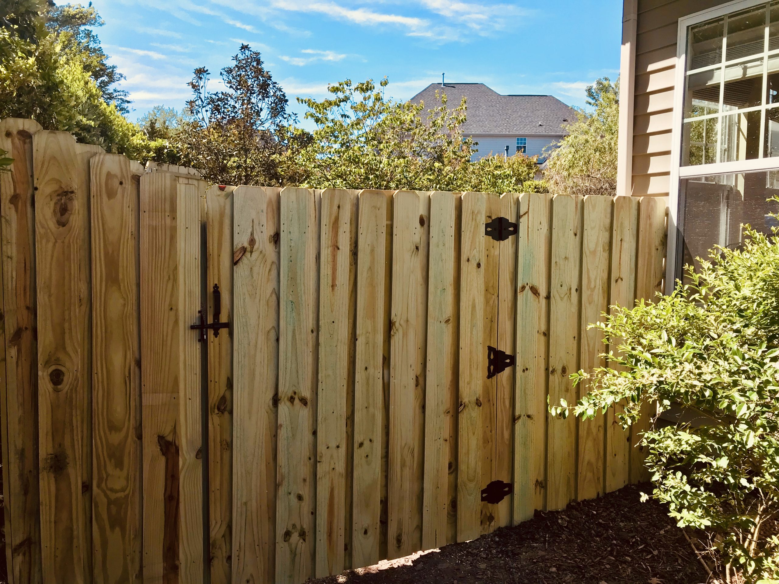 Board on Board Privacy Fence | Index Fence INC | Raleigh Fence Company